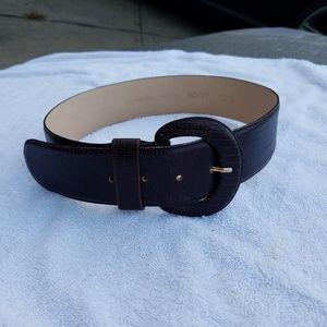 Axiom Brown Leather Women's Belt